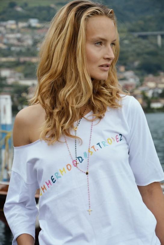 T-shirt Summer Mood St.Tropez