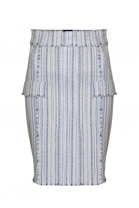 Spódnica z tweedu