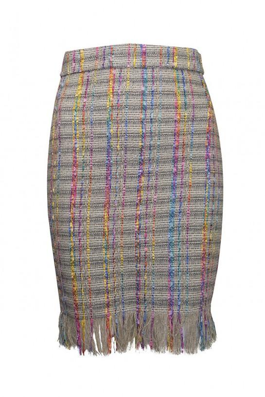 Spódnica z frędzlami