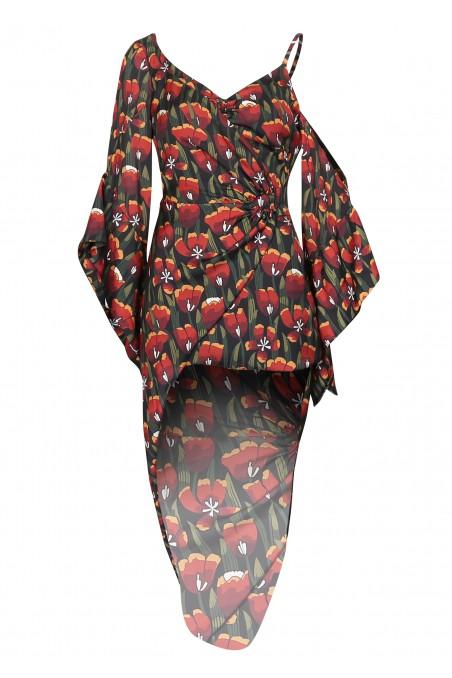 Sukienka geometryczna