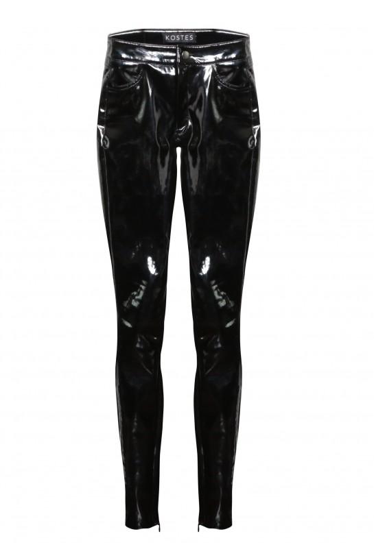 Spodnie lateksowe