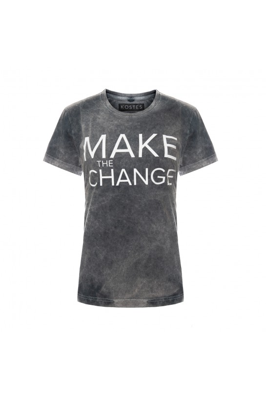 T-shirt MAKE THE CHANGE