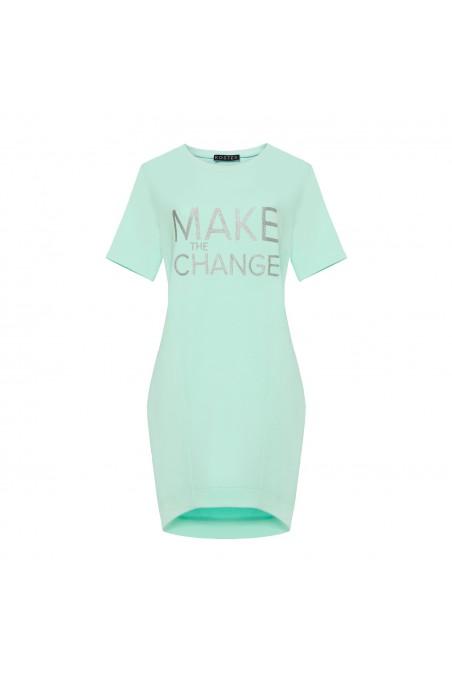 Sukienka dresowa MAKE THE CHANGE