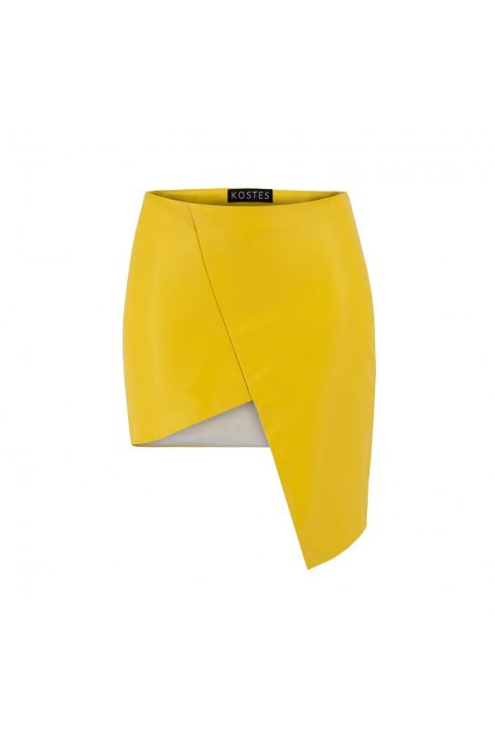 Spódnica żółta