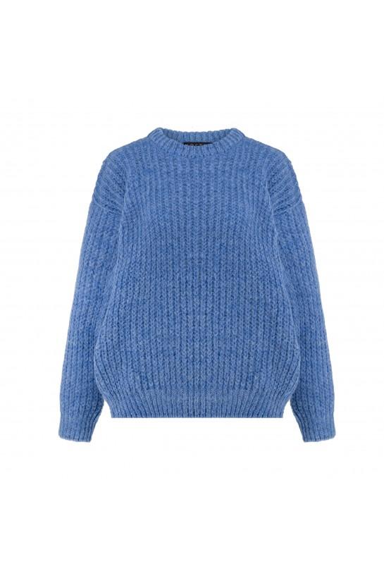 Sweter dzianinowy