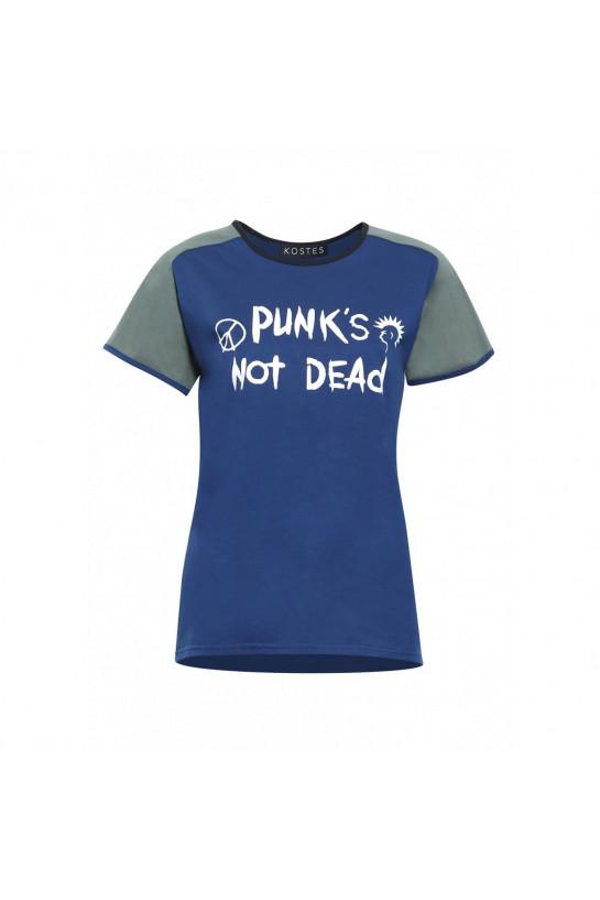 T-shirt Punk's Not Dath