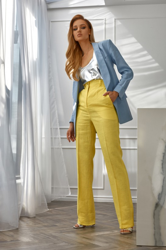 Spodnie z lnu
