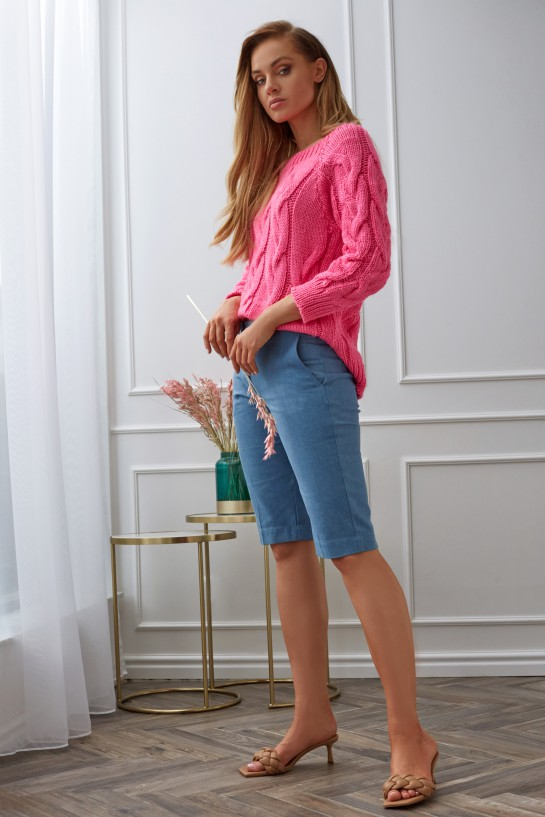 Spodnie bermudy jeansowe